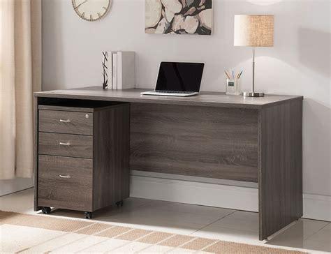 rustic home office desks bravia rustic grey home office desk