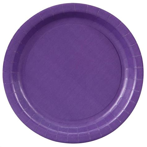 with paper plates purple paper plates 7 quot