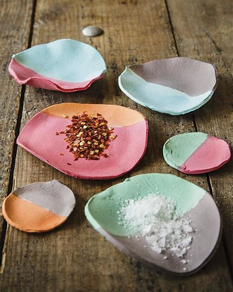 paper clay crafts paper clay spice bowls sweet paul magazine