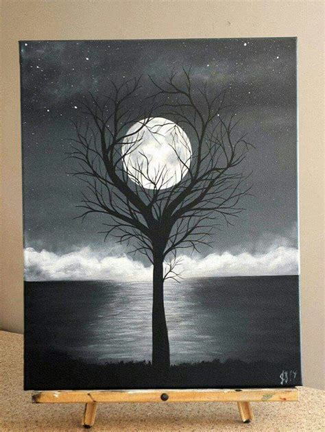 acrylic painting ideas black and white best 25 black canvas paintings ideas on black