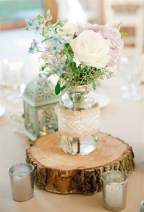 rustic table centerpieces 25 best ideas about outdoor wedding centerpieces on