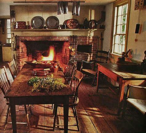 american decor early american style kitchen so cozy primitive home