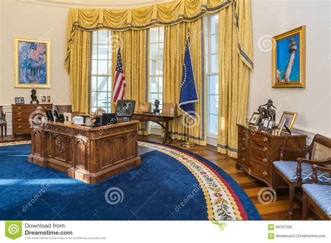 Obama Oval Office Decor little rock ar usa circa february 2016 replica of