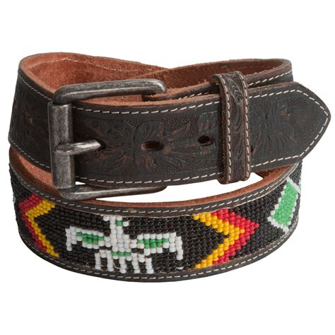 beaded belts will leather goods navajo beaded belt for