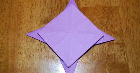 four pointed origami origami 4 pointed