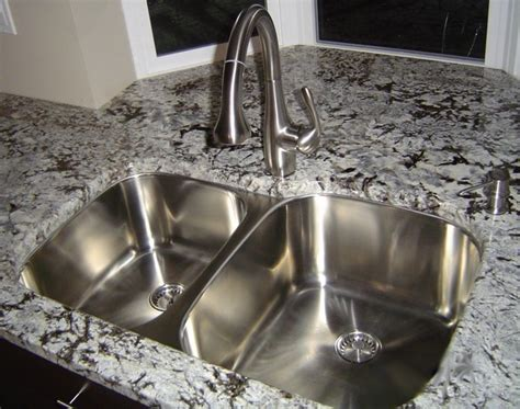 classic undermount kitchen sink 60 40 large bowl