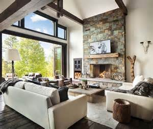 modern country homes interiors rustic modern dwelling nestled in the northern rocky mountains
