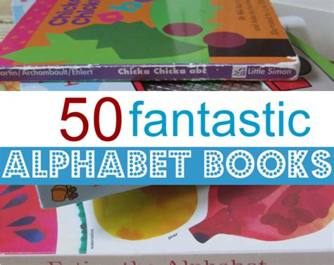 abc picture book 50 alphabet books for
