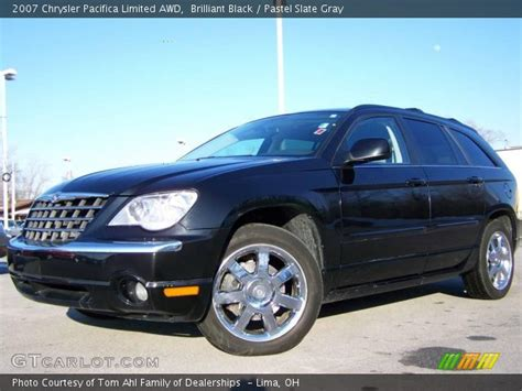 2007 Chrysler Pacifica Limited by Brilliant Black 2007 Chrysler Pacifica Limited Awd