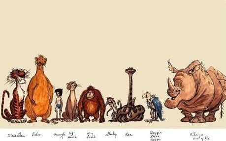 jungle book characters names and pictures the jungle book the of disney s most troubled