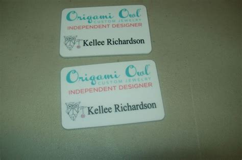 origami name tag 17 best images about origami owl and miche bag name badges