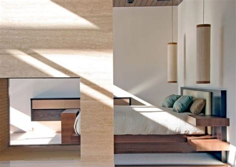 modern bedroom lighting a modern bedroom with pendant lighting decoist