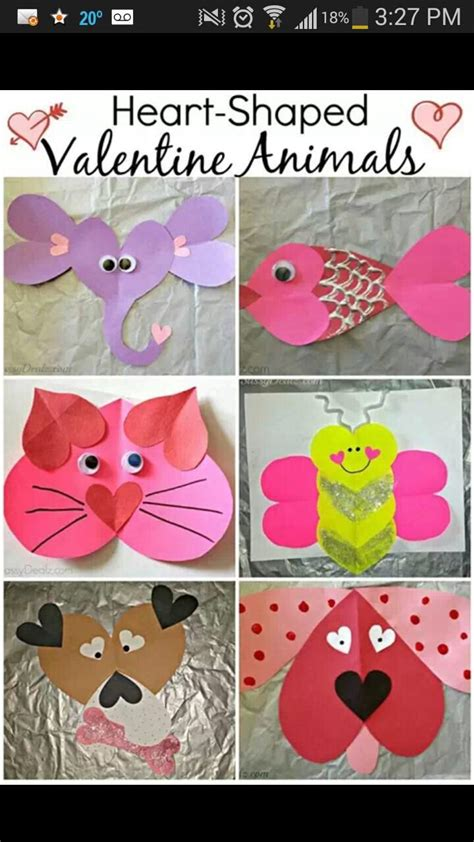 valentines arts and crafts for s arts and crafts kid craft