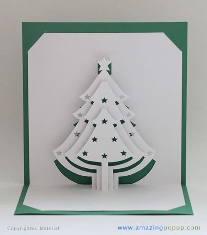 how to make a 3d tree card tree popup card www amazingpopup it is