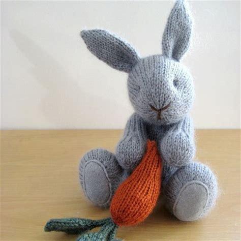 knit bunny pattern bitsycreations september 2010