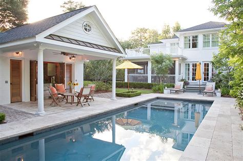 house plans with pools and outdoor kitchens 25 pool houses to complete your backyard retreat