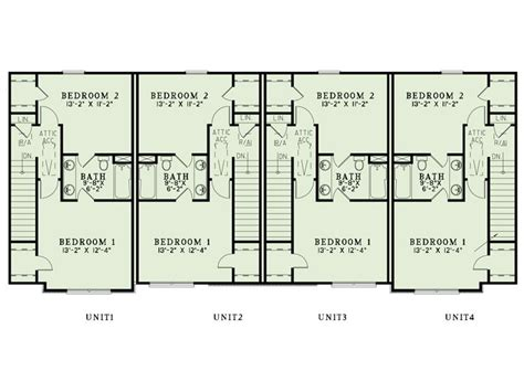 multi family house plans apartment plan 025m 0094 at