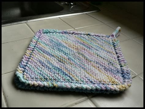 knit potholder pattern pin by meyer on knitting cotton and dish clothes