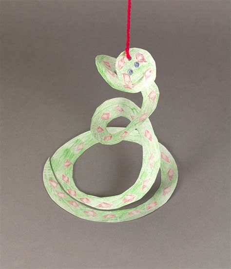 snake crafts for whirly curly snake craft crayola