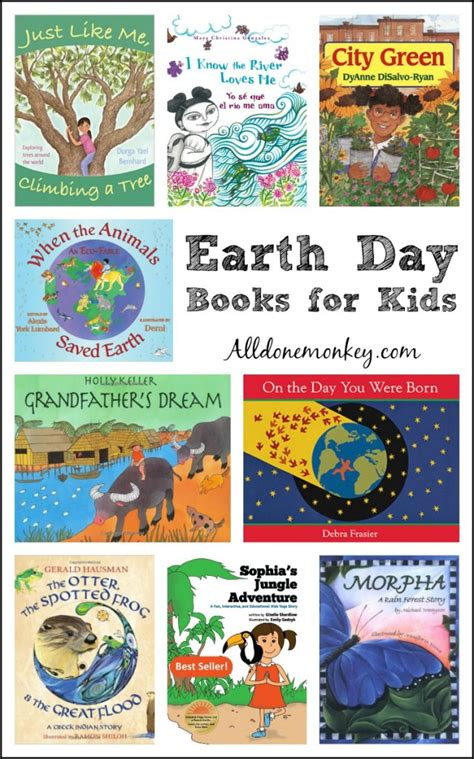 earth day picture books earth day books for all done monkey
