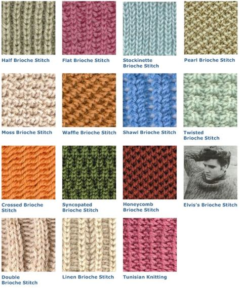 how to knit brioche stitch brioche stitch stitch n purl