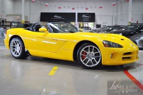 sell used 2005 dodge viper srt10 convertible xenon kenwood jl audio manual backup cam in