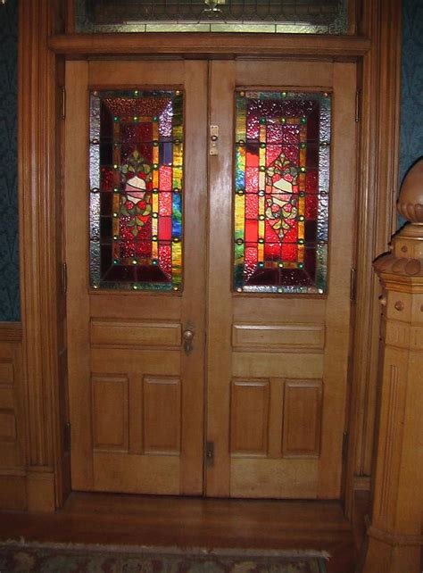 stained glass for front doors original stained glass doors