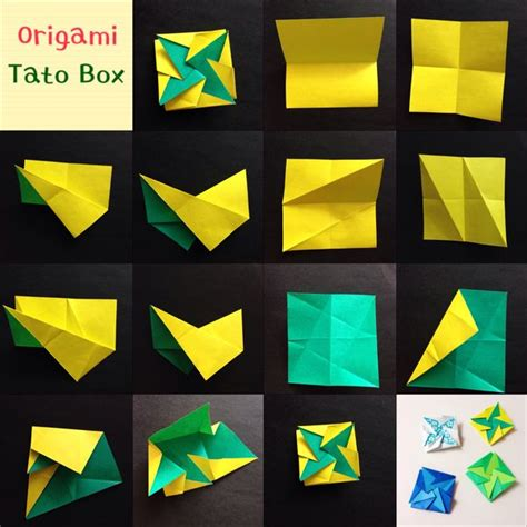 origami tato box origami book and photos on