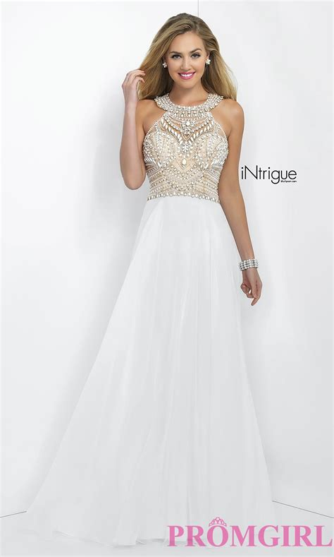beaded prom dress white beaded prom dress promgirl