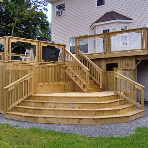 decking ideas designs patio awesome home deck designs homesfeed