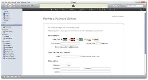 can i make an itunes account without a credit card create an itunes account without a credit card