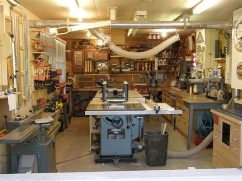 community woodworking shop woodshop ideas small shop solutions show us yours