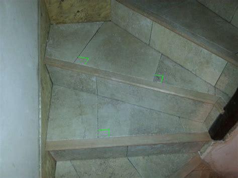 poser un carrelage sur un escalier en b 233 ton partie 2 2 reussir ses travaux