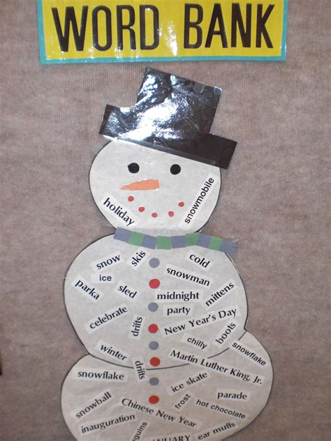 january crafts for patties classroom snowflake snowmen and winter poems