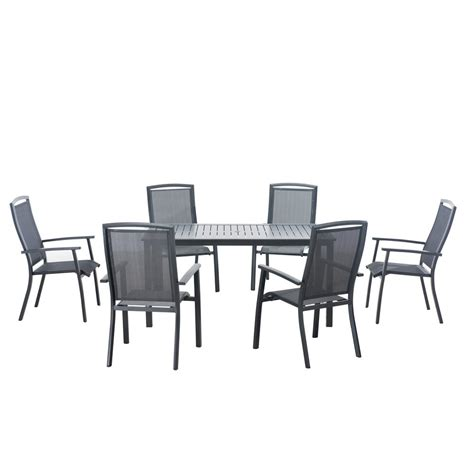 patio 7 dining set martha stewart living solana bay 7 patio dining set