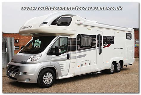 Southdowns   Used Swift Kontiki 679 High Line Fiat 2.3L 150 Tag Axle Coachbuilt Motorhome