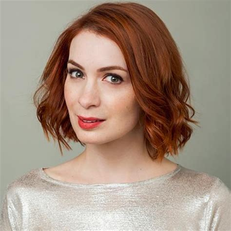 what is felicia day s hair color felicia day supernatural stars are quot the most handsome
