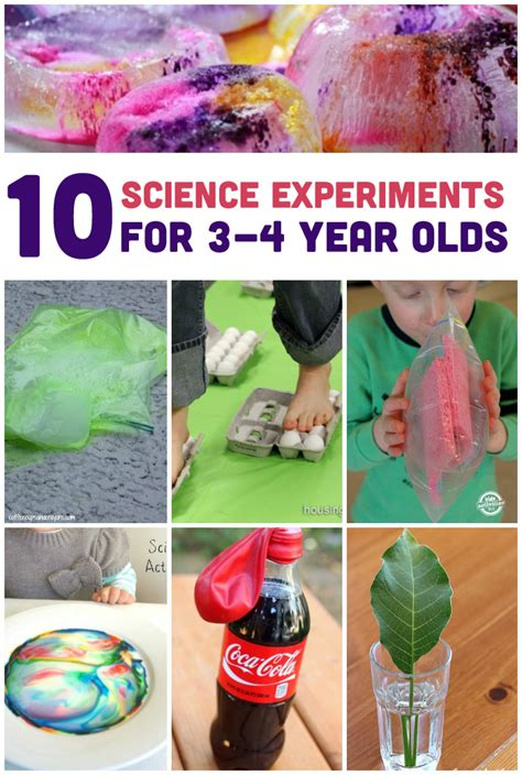 crafts for 2 year olds to make 10 simple science experiments for 3 4 year olds and