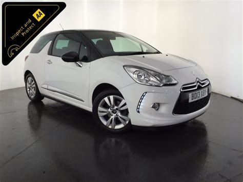 Used Citroen For Sale by Used White Citroen Ds3 For Sale Leicestershire