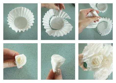 Shower Tabs by Coffee Filter Roses Diy My Crafty Spot When Life Gets