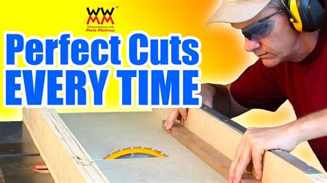mere mortals woodworking how to make a crosscut sled woodworking for mere mortals