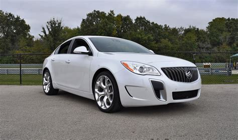 2016 Buick Regal Gs track drive review 2016 buick regal gs