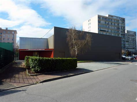 bourgueil rouleau architectes gymnase du grand clos salle de gymnastique femina