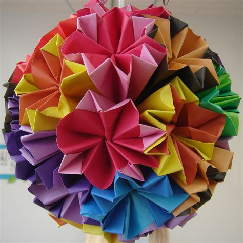 origami sphere crafts for interesting ideas you might not
