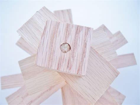 scandinavian wooden tree make your own scandinavian style wooden tree