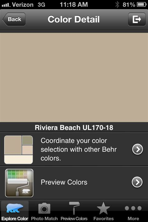 Behr Paint Color Riviera Our House