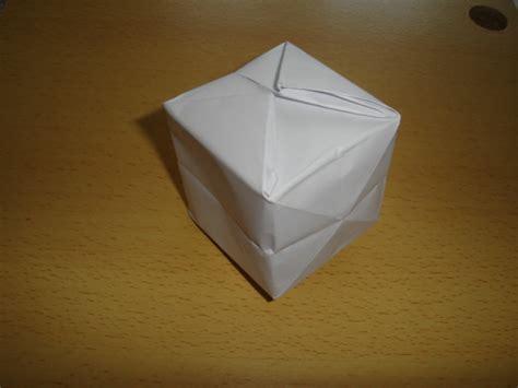 origami 3d cube origami cube by elitenavyseal on deviantart