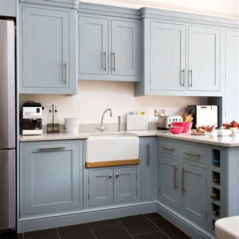 grey blue kitchen cabinets the white house on the seaside blues in the sea