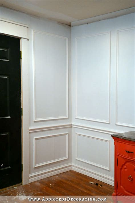 wall molding how to install picture frame moulding the easiest
