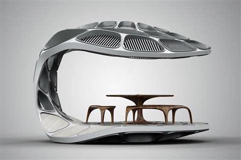 Kitchen Floor Plan Dimensions zaha hadid volu dining pavilion at design miami